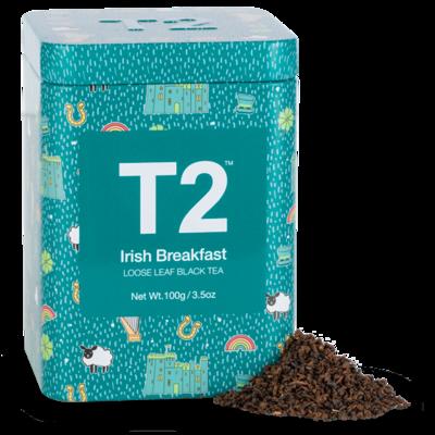 T2 Irish Breakfast Loose Leaf 100g Icon Tin
