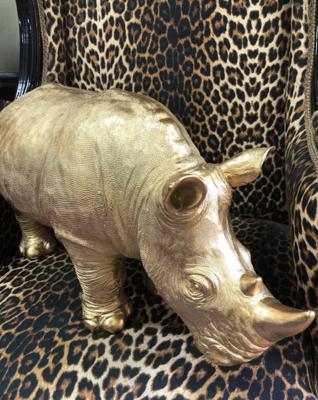 Giant Gold Rhino