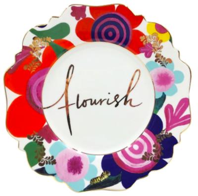 Fine China - Flourish Side Plate