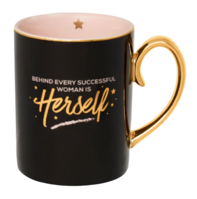 Behind every Successful Woman Mug
