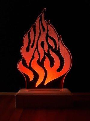 מנורת לד האש שלי