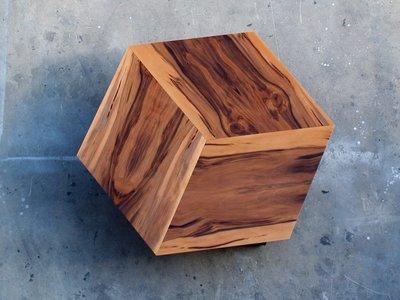 קוביה דו מימדית- שולחן סלון