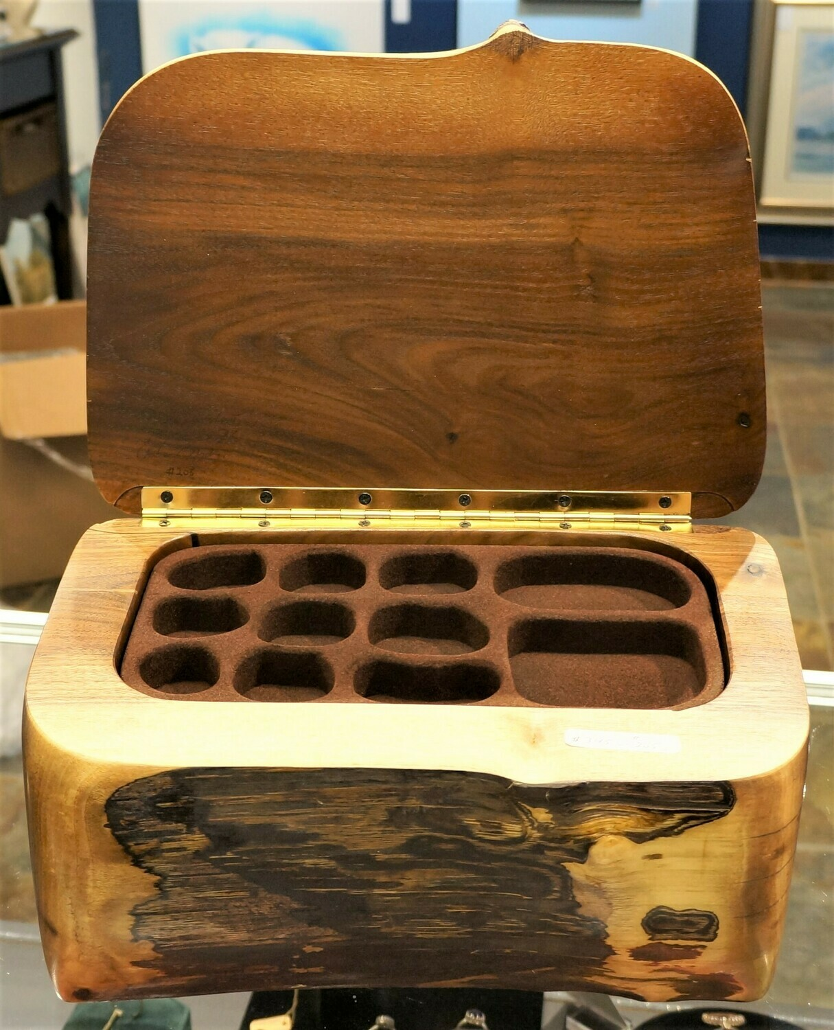 Black Walnut Box, by Robert Andrews