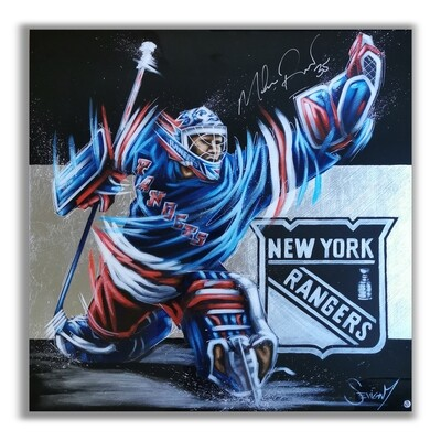 Mike Richter, signed