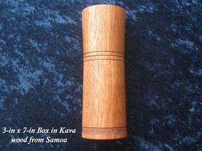 Wood Box, Kava Wood, by Michael Hamilton-Clark