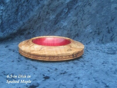 Turned wooden Dish, by Michael Hamilton-Clark
