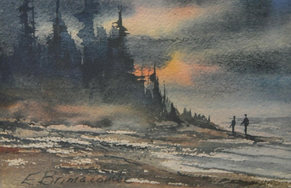 Mini Watercolour Paintings, by Errol Brimacombe