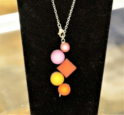 DNA Pendant necklace, by Sophiori
