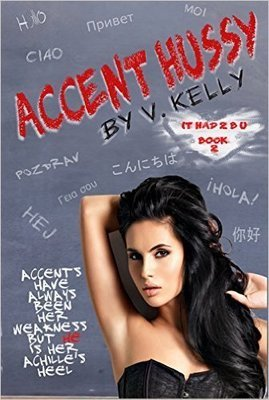 Signed paperback of Accent Hussy