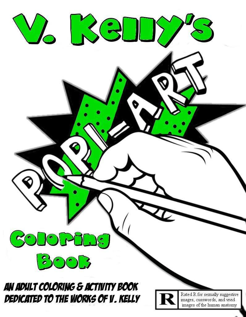 V. Kelly Pop! Art Coloring and Activity Book