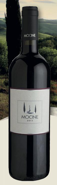 "Vino Rosso Toscano IGT ""Mocine"""