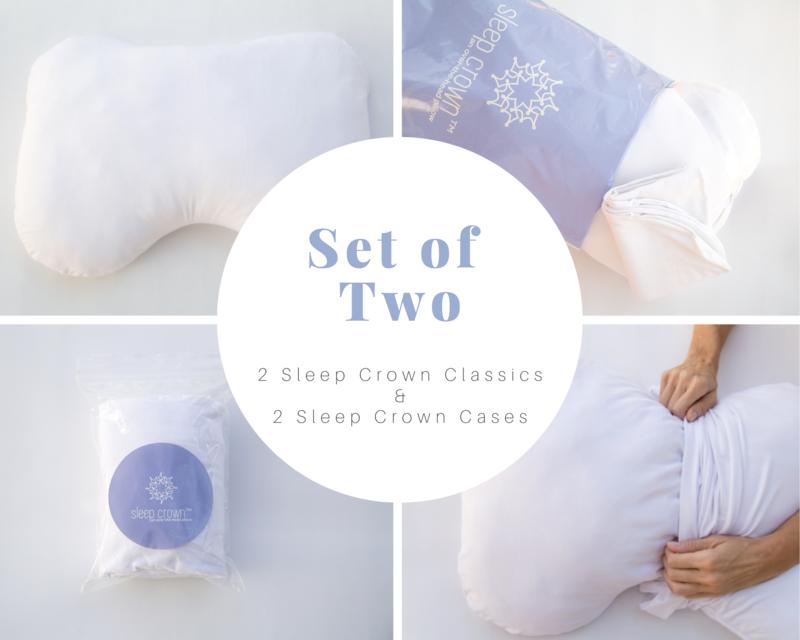 Sleep Crown Classic, Set of 2