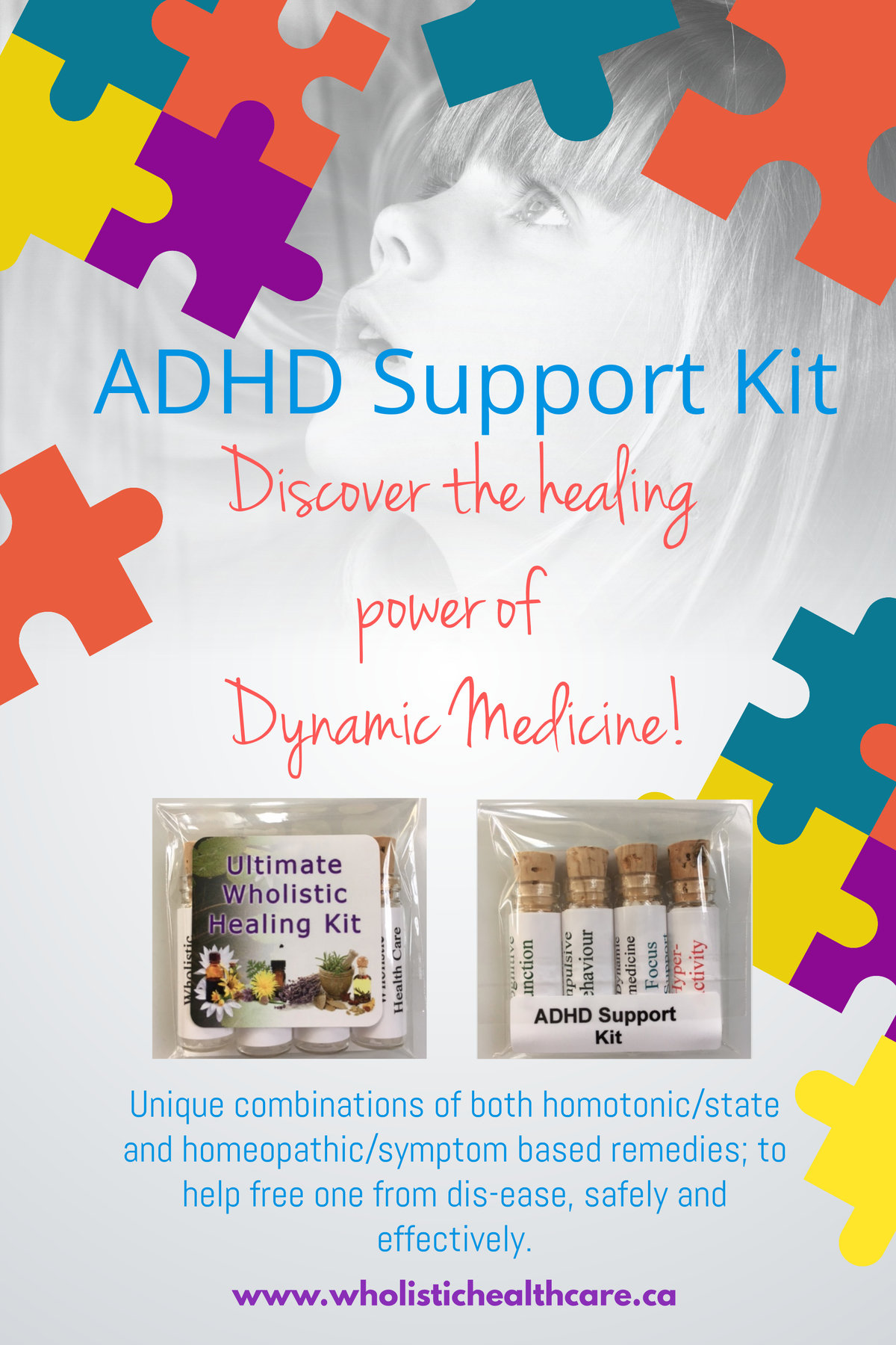 ADHD Homeopathic Support Kit 00007
