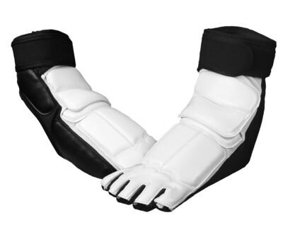Kick, TKD Foot Protector, White