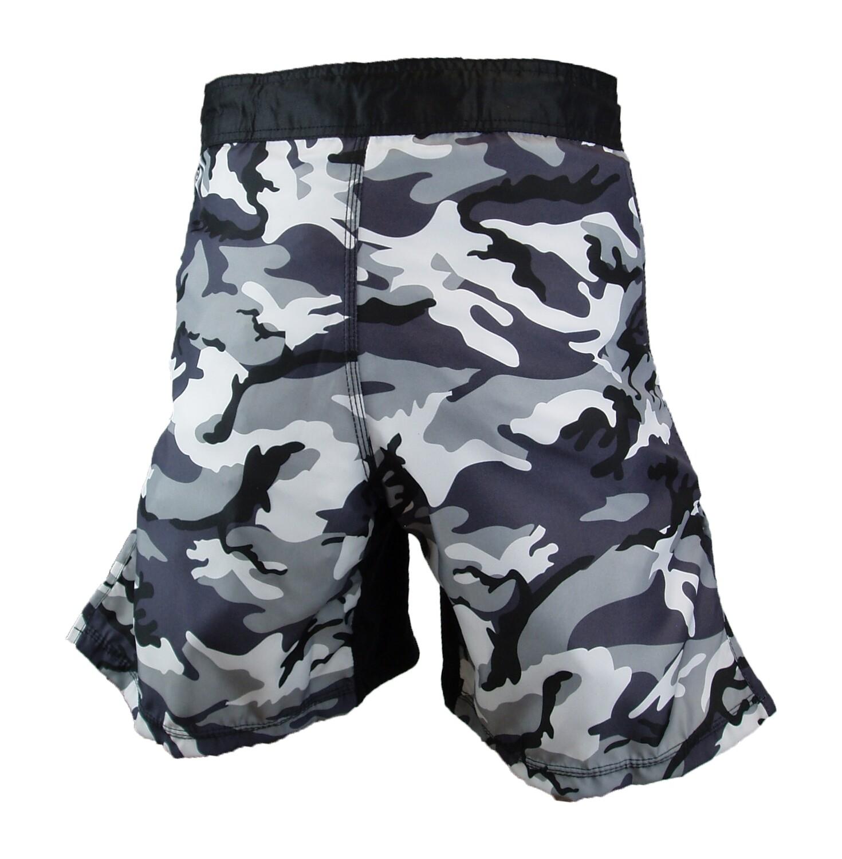 MMA Shorts, City Camo