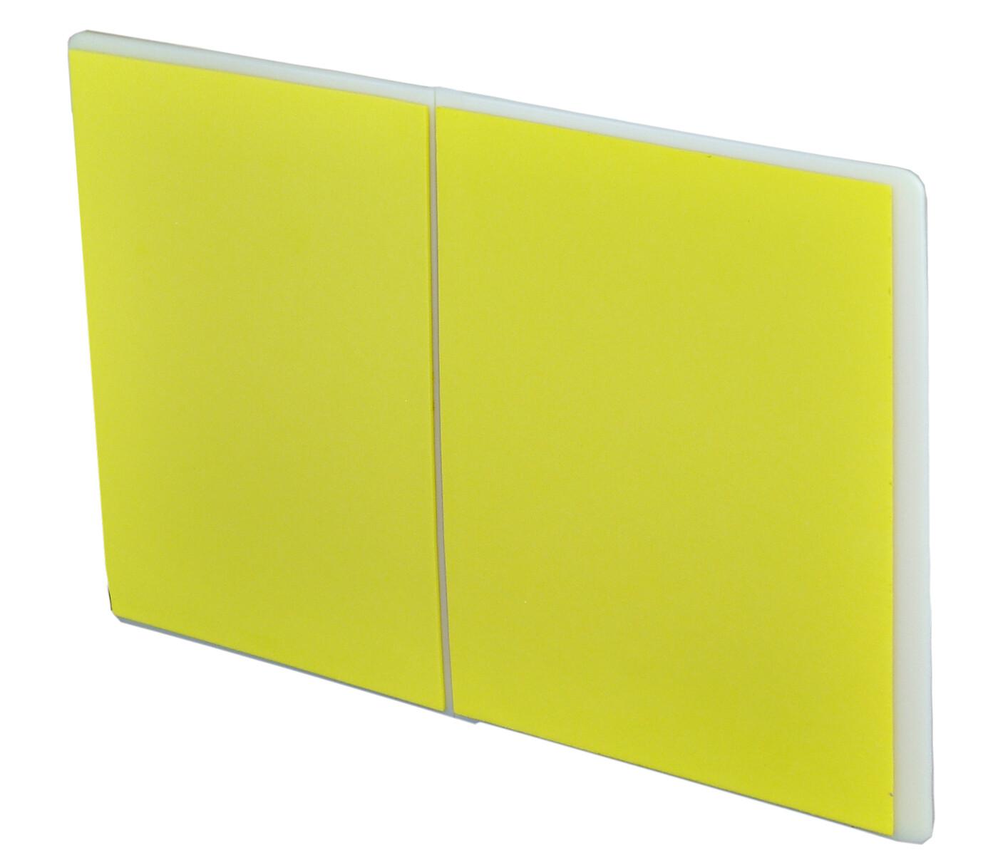 Breaking Board, Re-breakable, Flat; Yellow
