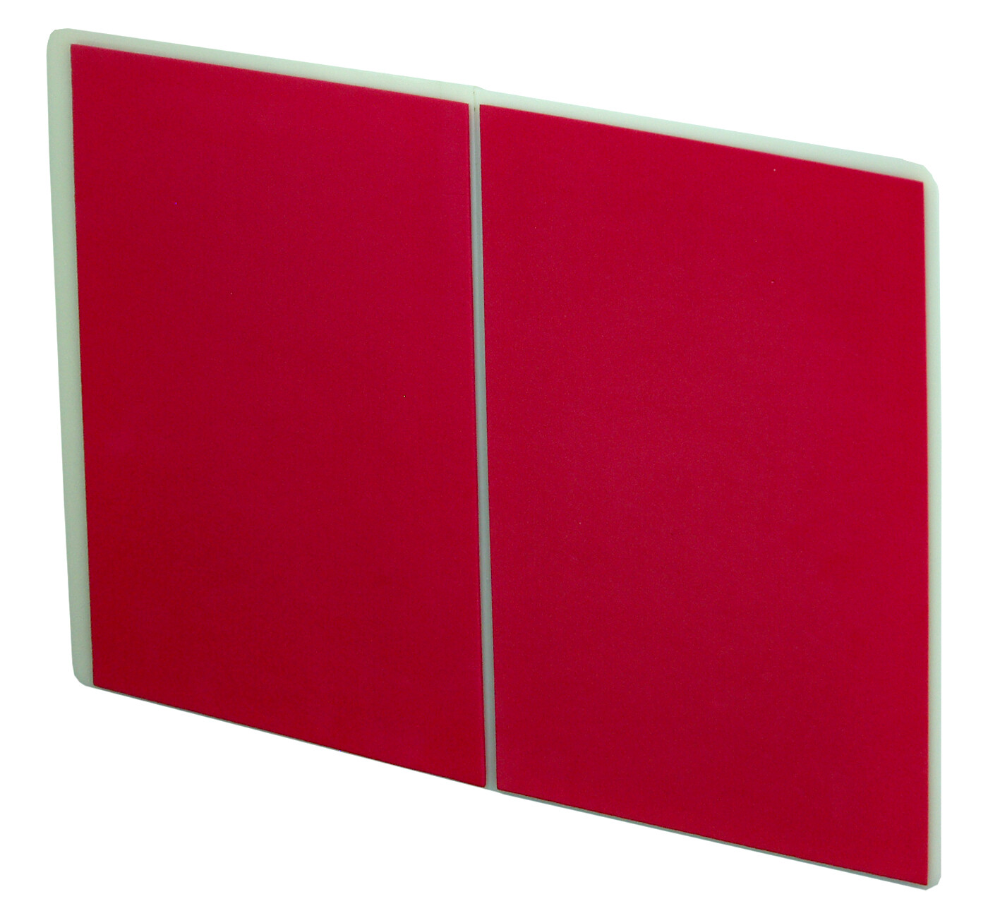 Breaking Board, Re-breakable, Flat; Red