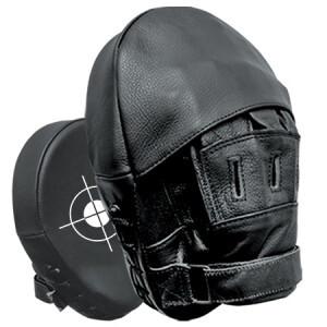 Focus Mitt, Leather (Pair), Curved
