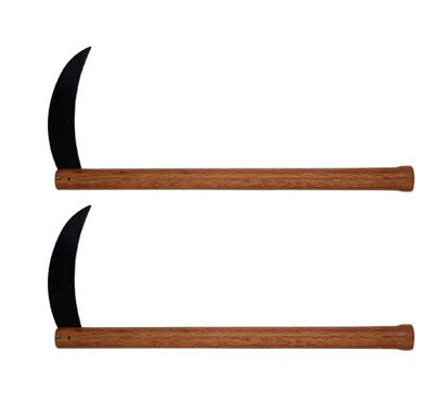 "Kama- Steel Blade, Unsharpened, 18""L"