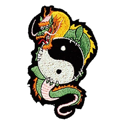 Patch, Animal, Dragon w/ YinYang