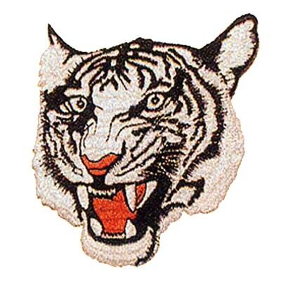 Patch, Animal, Tiger, White