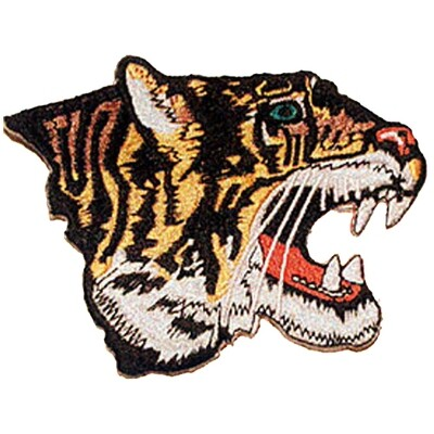 Patch, Animal, Tiger, Sideview