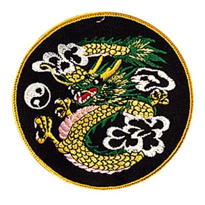 Patch, Animal, Dragon in Circle