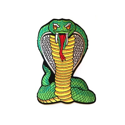 Patch, Animal, Cobra