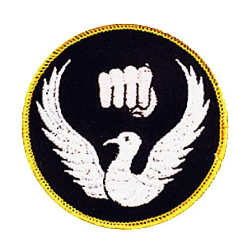 Patch, Logo, Dove & Fist