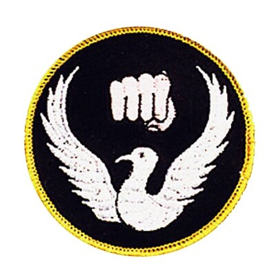 Patch, Logo, Dove & Fist