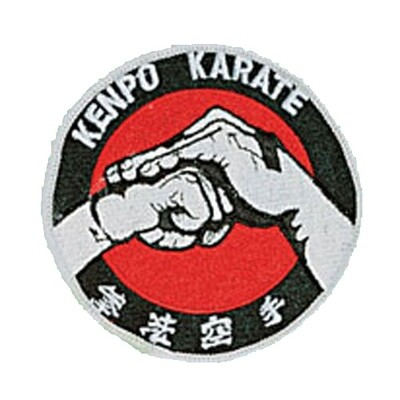 Patch, Logo, KENPO KARATE in Circle w/ Chinese Character