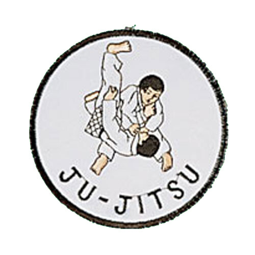 Patch, Logo, JUJITSU in Circle