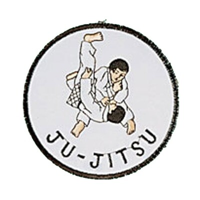 Patch, Logo, JUJITSU in Circle
