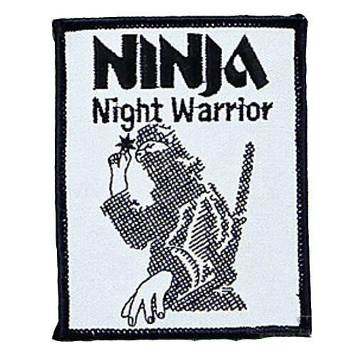 Patch, Logo, NINJA, Night Warrior