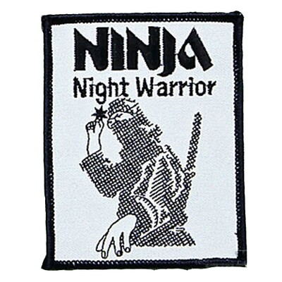 Patch, Logo, NINJA, Night Warrior