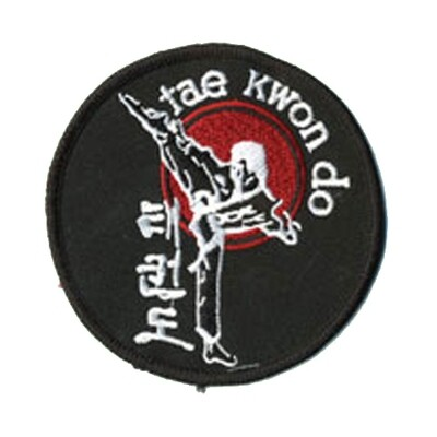 Patch, Logo, TaeKwonDo w/ Side Kick