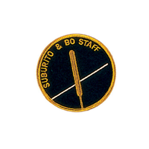 Patch, Logo, Subrito/Bo Staff, 3""