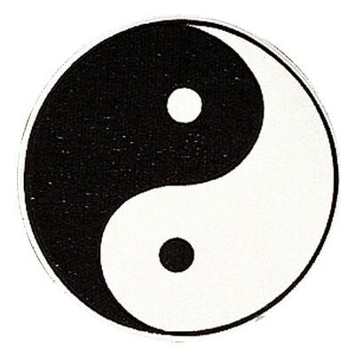 Patch- Logo, YinYang w/ TANGSOODO