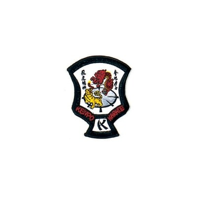 Patch, Logo, Kenpo Crest, Tiger/Dragon
