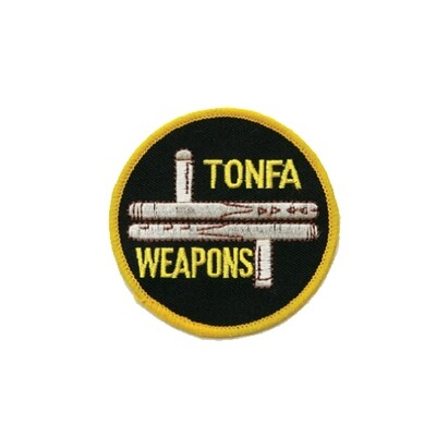 Patch, Logo, Tonfa, 3""