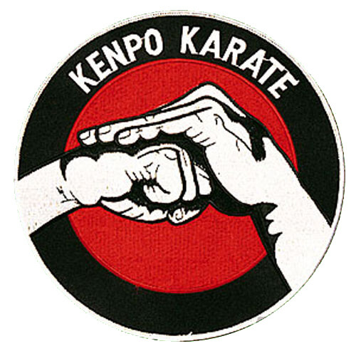 Patch, Logo, KENPO KARATE in Circle