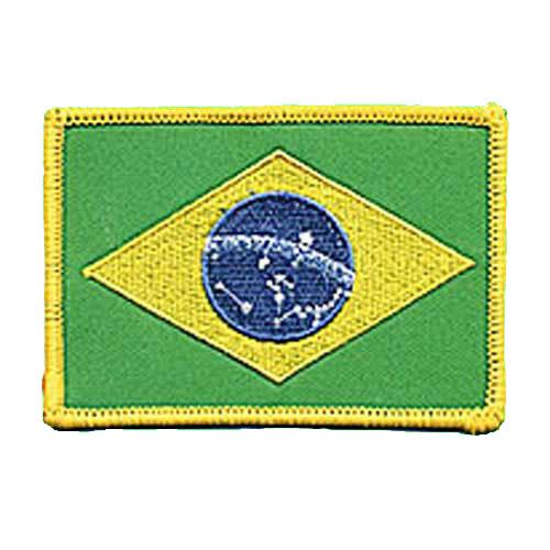 Patch, Flag, Brazil