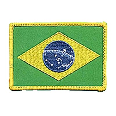 Patch, Flag, Brazil