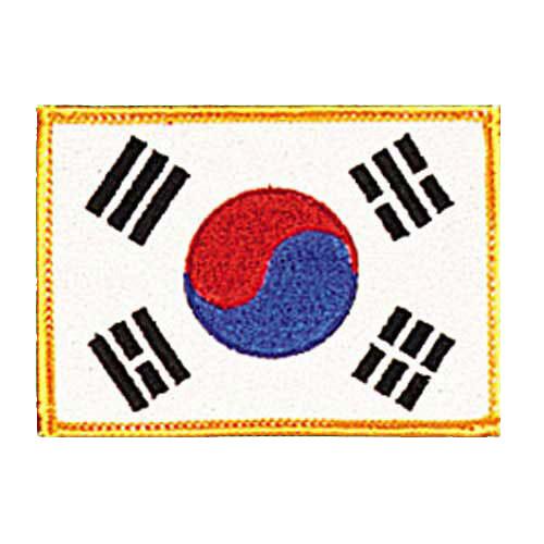 Patch, Flag, Korea