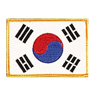 Patch, Flag, Korea