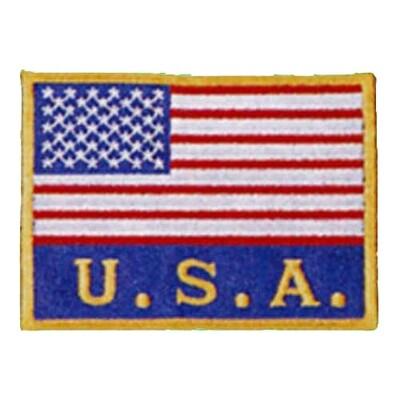 Patch, Flag, USA w/ USA