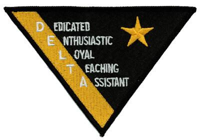 Patch, Team, Triangular, DELTA