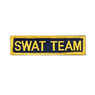 Patch, Team, SWAT TEAM