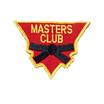 Patch, Team, Triangular, MASTERS CLUB