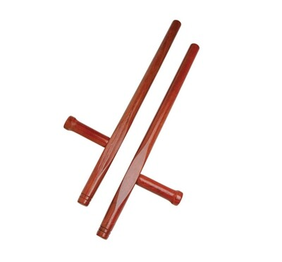Wooden Tonfa, Natural, (Pair)